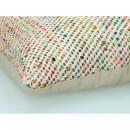 Coussin à motifs tressés 50 x 50 cm Tequilla