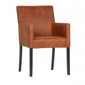 Jasmijn - Chaise en similicuir