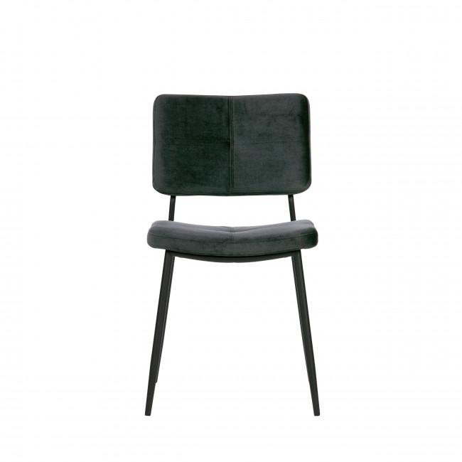 Kaat - 2 chaises en velours