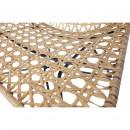 Weave - Fauteuil en résine et métal