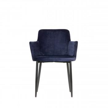 Tatum - Chaise en velours