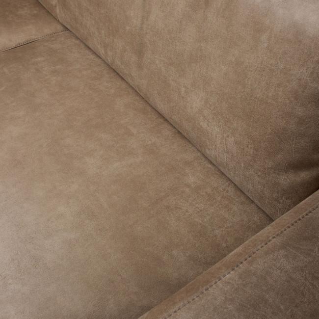 Rebound - Canapé 3 places en simili-cuir