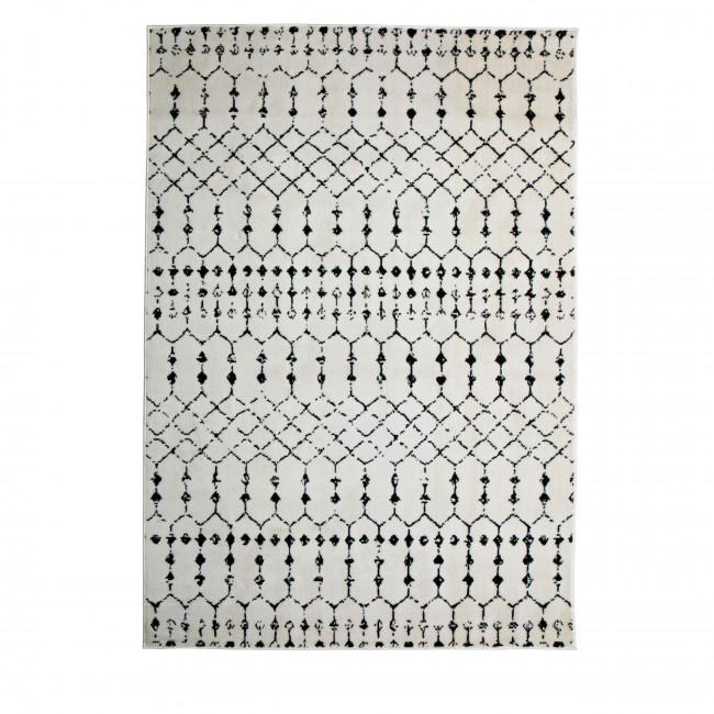 Sansa - Tapis en jute blanc 170x240