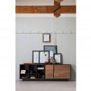 James - Buffet design 2 portes en bois