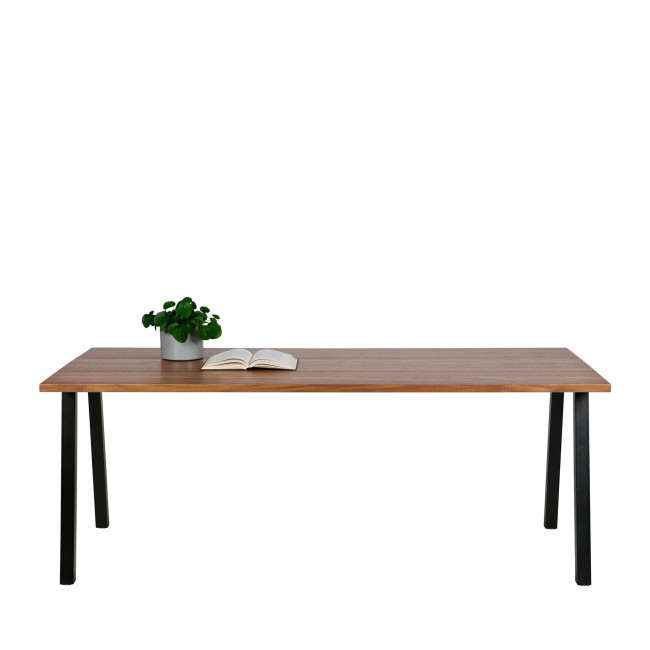 James - Table à manger en bois 200x90 cm