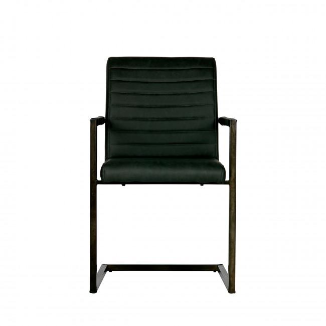 Bas - 2 chaises en simili-cuir