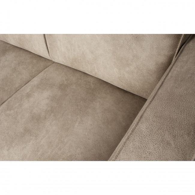 Statement - Canapé d'angle gauche en Elefant Skin