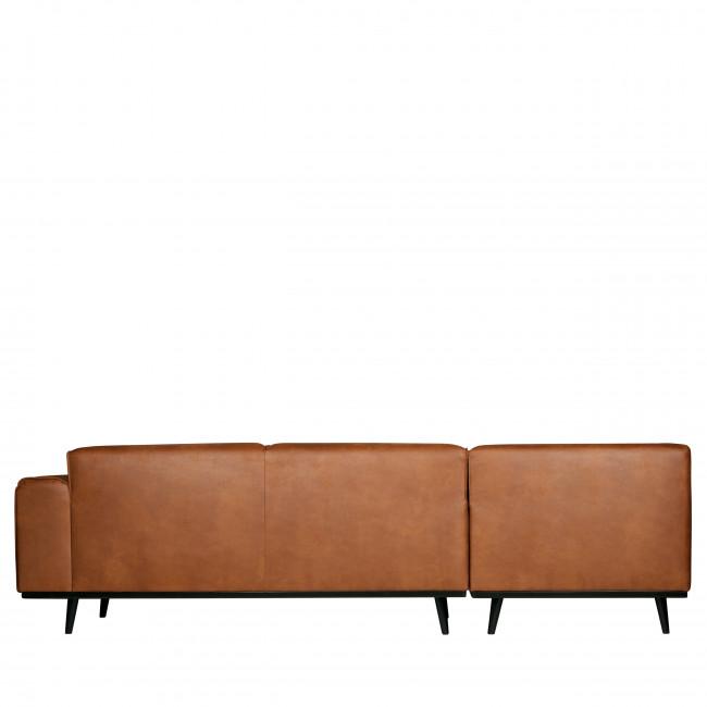 Canapé d'angle gauche en synderme Statement