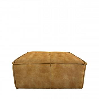 Cube - Pouf en velours