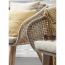 Bordeira - Fauteuil de jardin en bois et corde