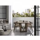 Mieres - Table d'appoint en terrazzo ø55 cm