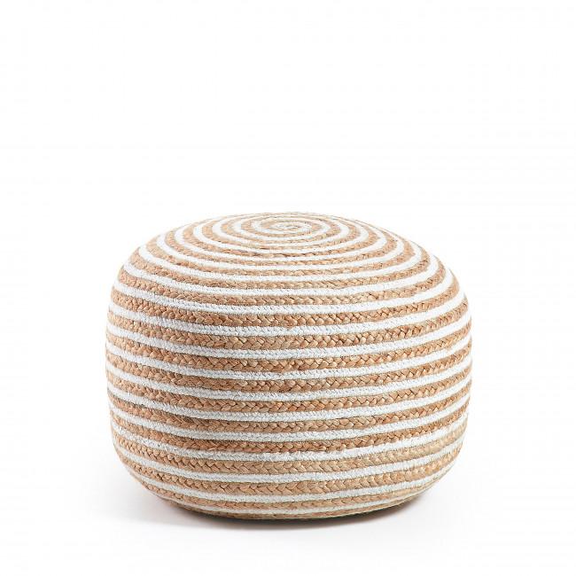 Bailen - Pouf en fibre naturelle