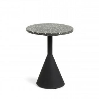 Mieres - Table d'appoint en terrazzo ø40 cm