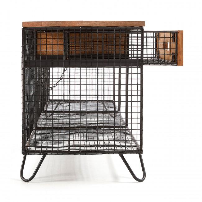 Outeiro - Meuble TV en bois et métal