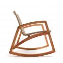 Cimada - Rocking chair de jardin en bois