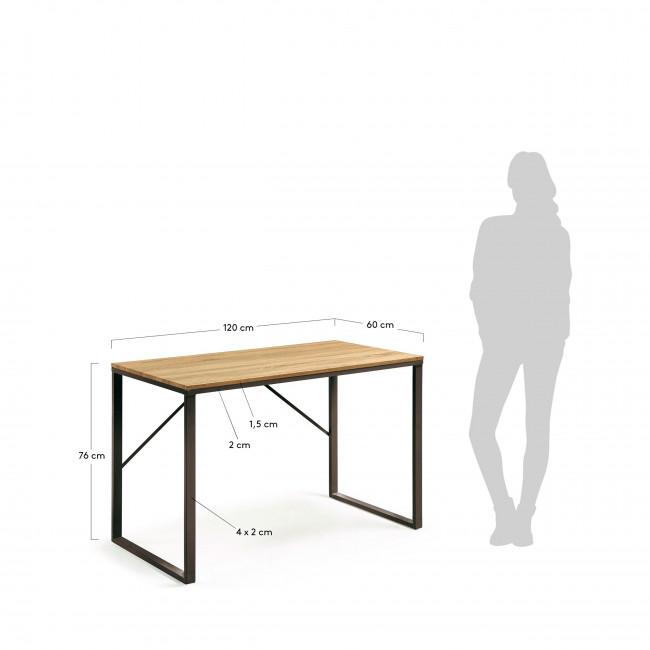 Montoro - Bureau en bois et métal