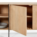 Castuera - Buffet en bois et métal