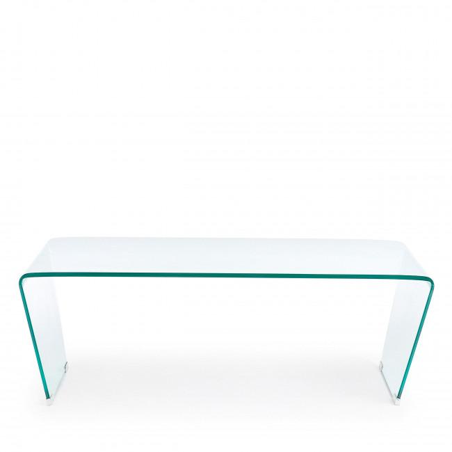 Burano - Table basse en verre 120x60 cm