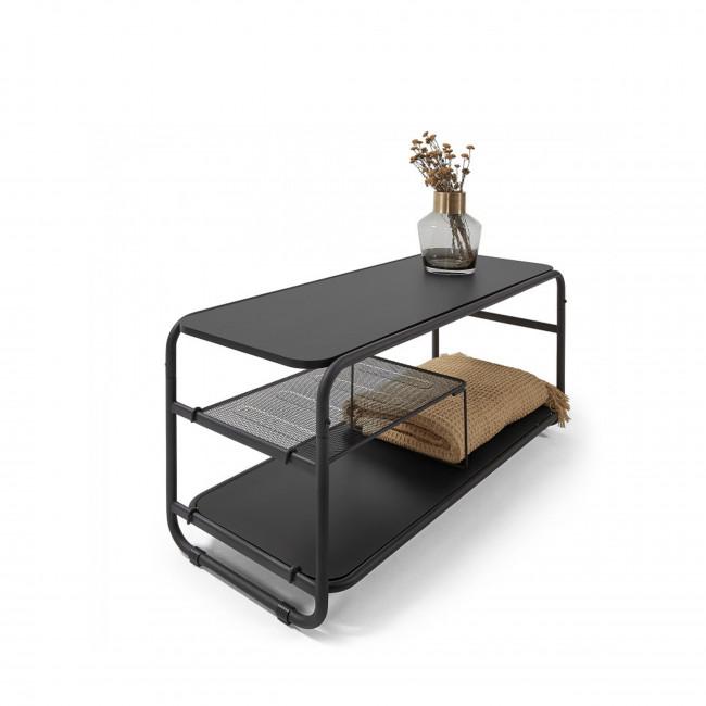 Somio - Meuble TV en bois et métal