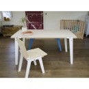 Table design Switch Medium blanche ambiance