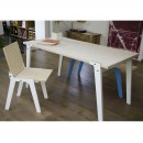 Table Design Switch Large blanche ambiance