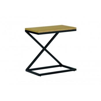 Kalvi - table basse en bois et métal