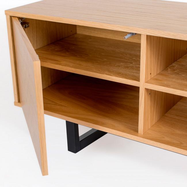 Camden - Meuble TV en bois motifs chevrons