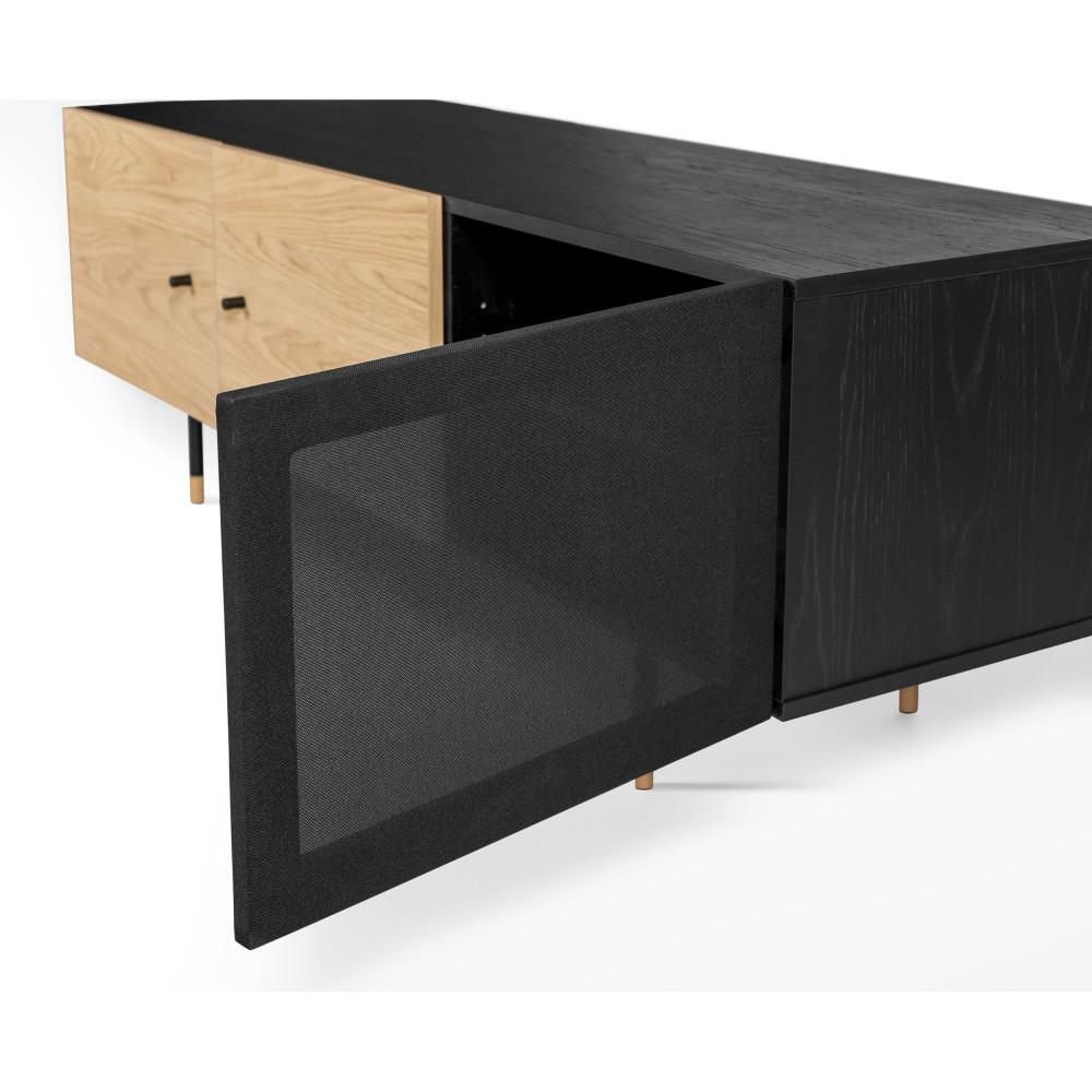 meilleure sélection 4274f 722e9 Jugend - Meuble TV en bois et métal