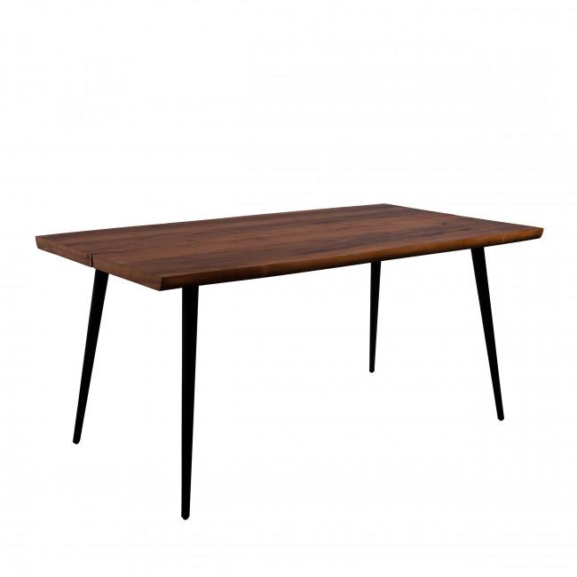Alagon - Table à manger en noyer 160x90cm