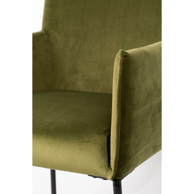 Dion - 2 fauteuils en velours