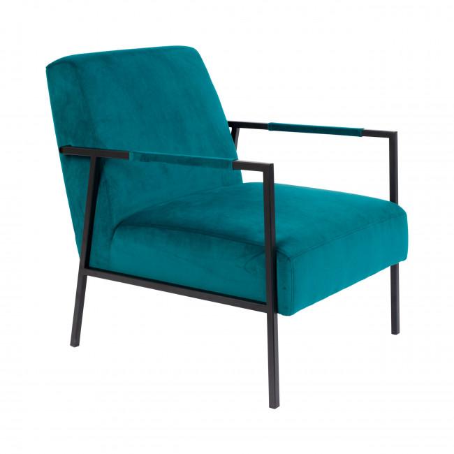 Wakasan - Fauteuil lounge en velours