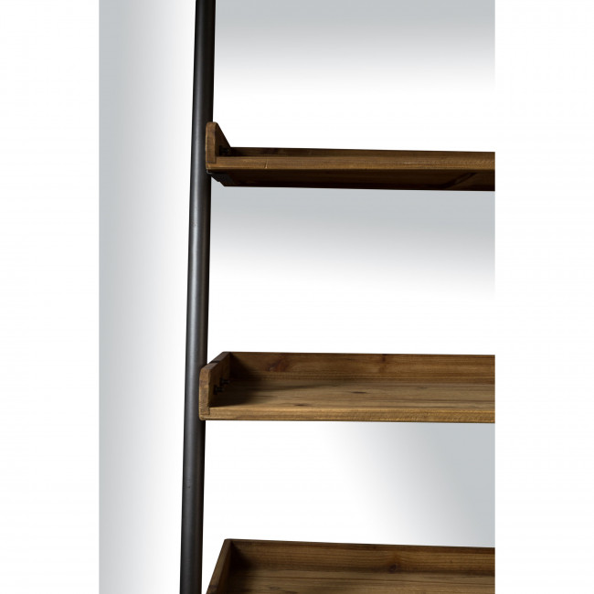 Wally - Étagère en métal et bois