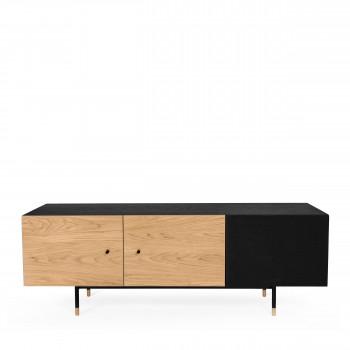 Jugend - Meuble TV en bois et métal