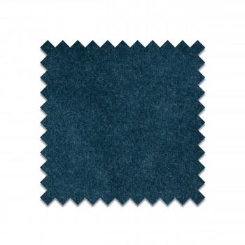 Échantillon gratuit tissu velours bleu pétrole VELVET24