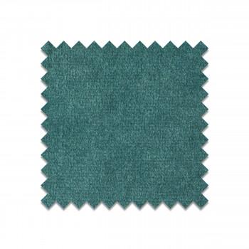 Échantillon gratuit tissu velours vert turquoise VELVET75