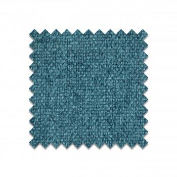 Echantillon gratuit tissu bleu paon BT-14