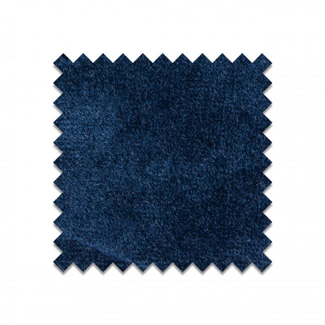 Échantillon gratuit tissu velours bleu foncé VELVET-R35-A49