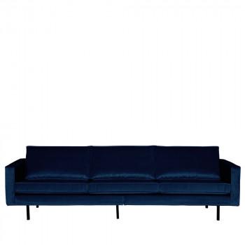 Grand canapé 3/4 places en velours Velvet Bronco
