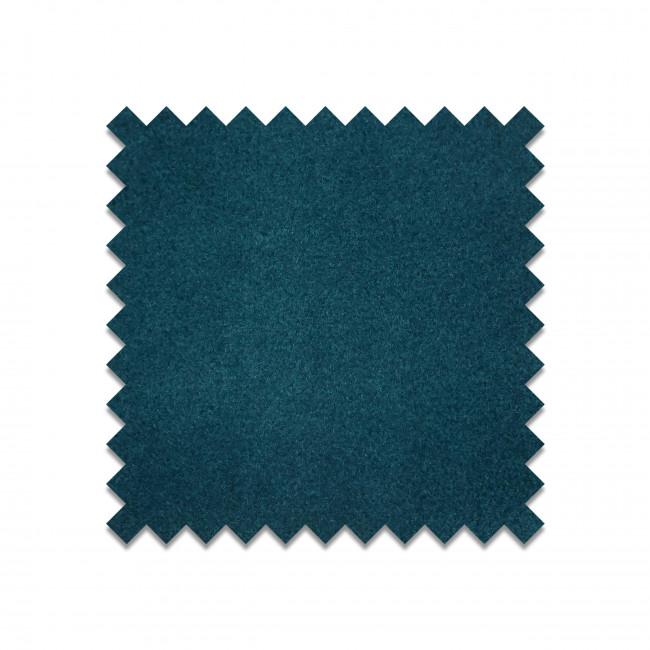 LU23 - Echantillon gratuit velours bleu canard