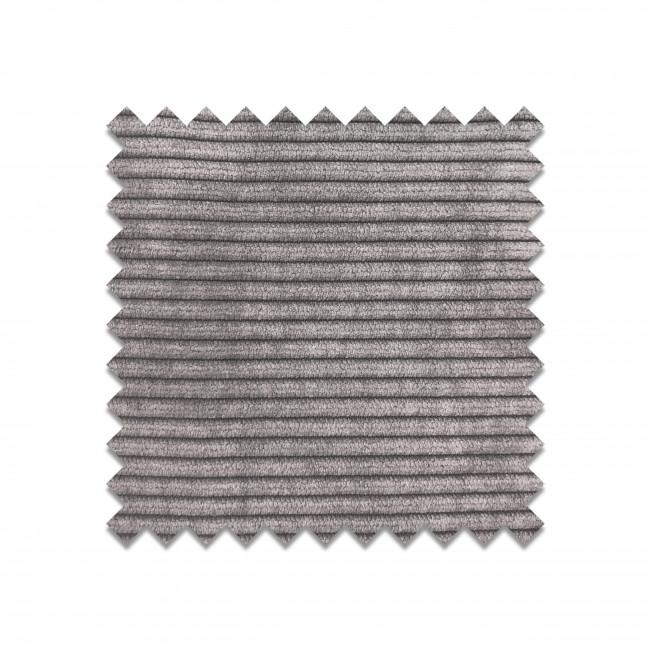 WEATHERED GREY - Echantillon gratuit tissu côtelé gris clair