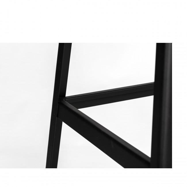 Valreas - 2 tabourets de bar en métal 61cm