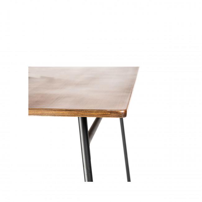 Venon - Table à manger métal et bois