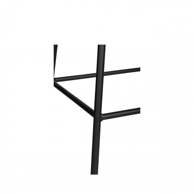 Arlet  - 2 tabourets de bar métal et bois 67cm