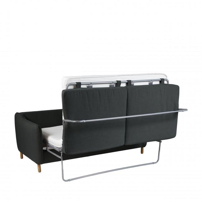 Vornay - Canapé convertible 3 places en tissu