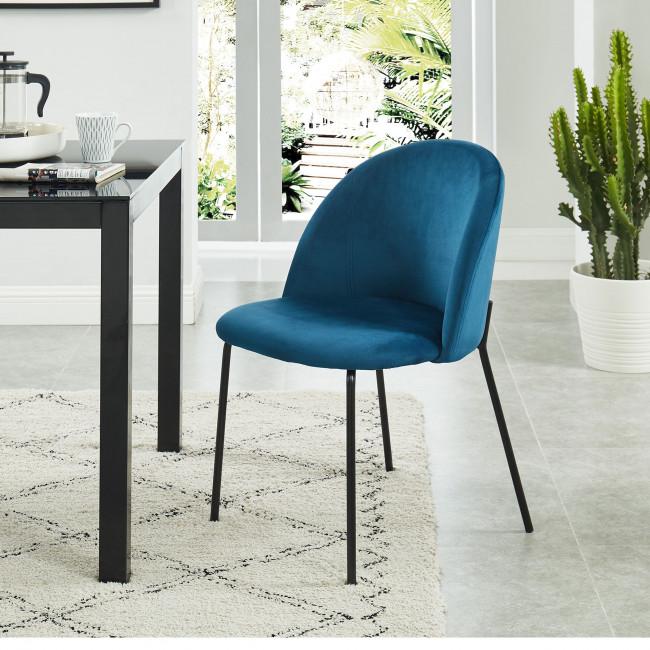 Slana - Chaise en velours