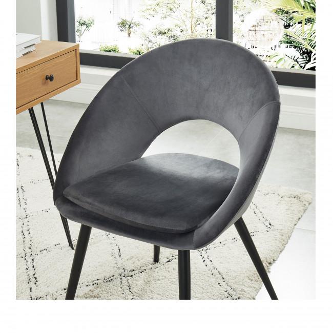 Kablar - Chaise en velours
