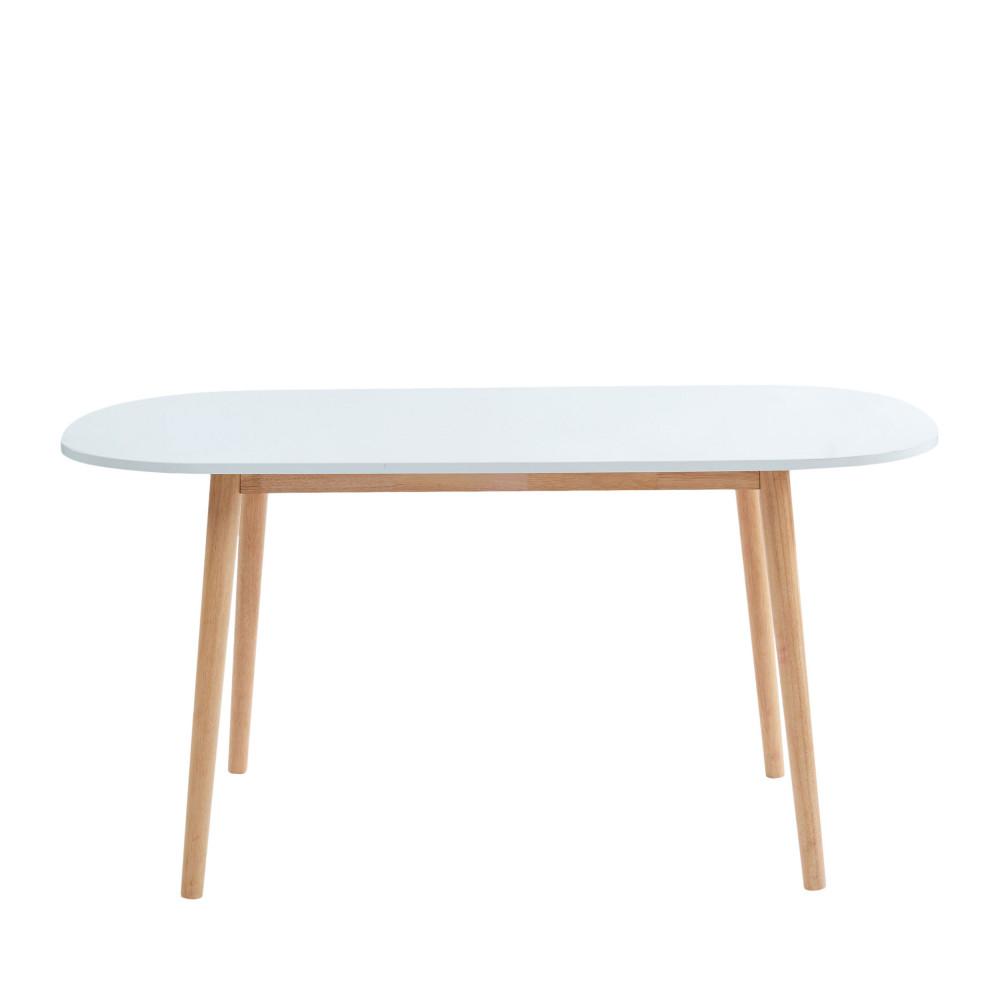 Table À Manger Nordique table à manger scandinave 160 x 80 cm - gurra