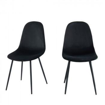 Heki - 2 chaises en velous