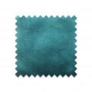 Echantillon gratuit en velours bleu canard