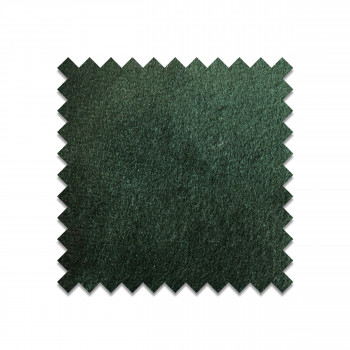 Echantillon gratuit en velours vert forêt